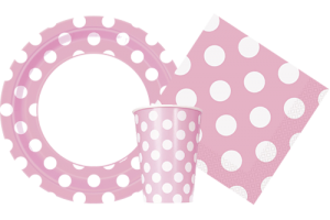 Lovely Pink Polka Dots