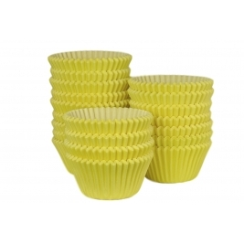 Yellow Muffin Cases - 500Pk