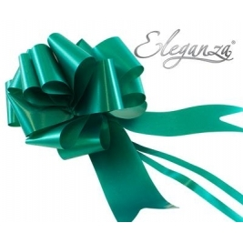 Eleganza Poly Pull Bows Emerald Green - 50mm x 20pcs