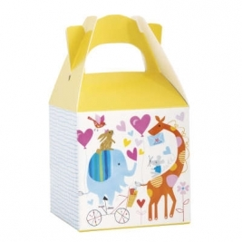 Baby Shower Zoo Favor Boxes Pack of 8