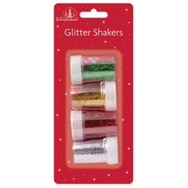 Glitter Shakers Set - Pack Of 4 Colours