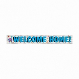 WELCOME HOME FL BNR 12FT-LF