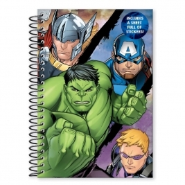 Avengers Classic A5 Soft Cover Nbook