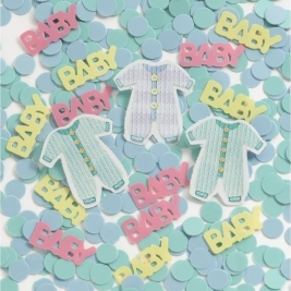 Baby Clothes Confetti 0.5oz