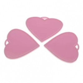 Baby Pink Heart Shape Weights (x50)