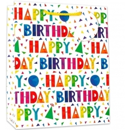 Birthday Gift Party bags - Happy Birthday pack of 6