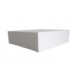 Cake Box Lid Folded and Boxed 8 Inch - 50Pk