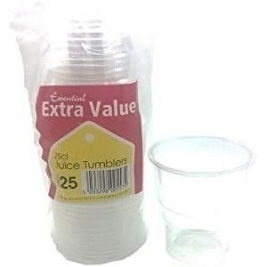 Extra Value Juice Tumbler 250ml  25Pk