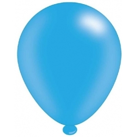 Light Blue Latex Balloons Pks of 8 balloons