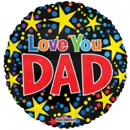 Love You Dad Foil Balloon(18 inch)
