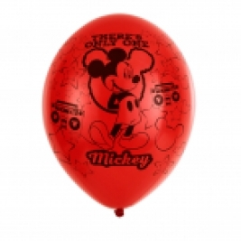 Mickey Mouse 4 Sided Latex Balloons 11