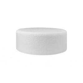 Round Chamfered Edge  Cake Dummy: 12