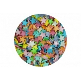 Sugar Small Stars: Rainbow Mix 60g