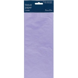 Lilac Solid Color Tissue