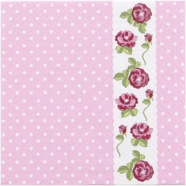 Vintage Rose - Napkin Pack of 16