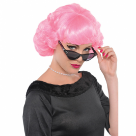 Adults Pink Wig