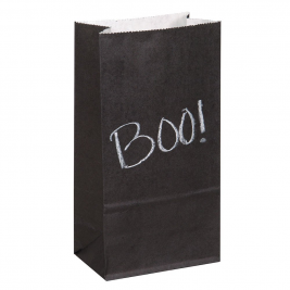 CHALK PAPER PARTY BAGS INCLUDES 1 CHALK - pack of 12