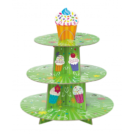 Cupcake Party 3-Tier Cupcake Stand