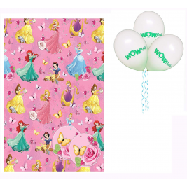 Disney Princess Gift Wrap - Pack of 2 Wraps
