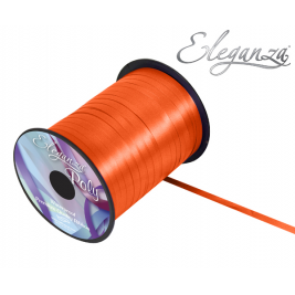 Orange Eleganza Poly Curling Ribbon 5mm x500yds