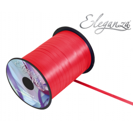 Eleganza Poly Curling Ribbon 5mm x500yds No.16 Red