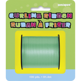 EMERALD GREEN CURLING RIBBON ROLLS  100 YDS