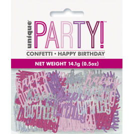 HAPPY BIRTHDAY Foil Confetti