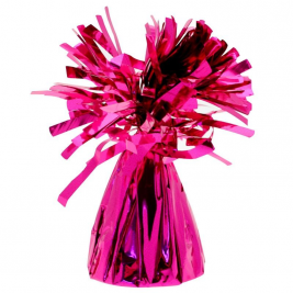 Hot Pink Foil Balloon Weight Pack of 12