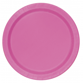 HOT PINK Paper Tableware-9
