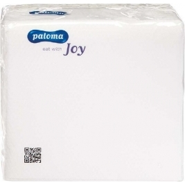 100PK 1PLY WHITE NAPKINS