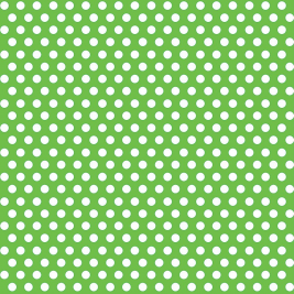 Lime Green Dots Decorative Gift Wrap 30