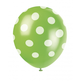 Lime Green Dots Printed 12