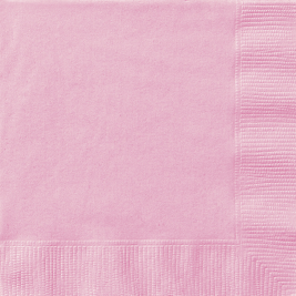 Lovely Pink Beverage Napkins (20pk)