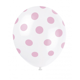 Lovely Pink Dots Balloons 12
