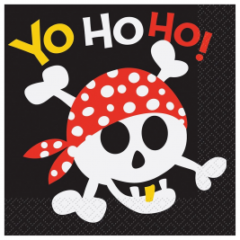 Pirate Fun Luncheon Napkins (16pk)
