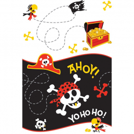 Pirate Fun Plastic Tablecover 54