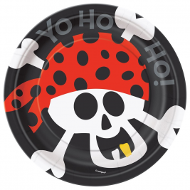 Pirate Fun Plates 7