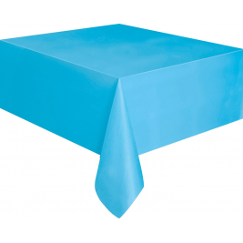 baby blue  PLASTIC TABLECOVERS 54