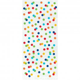 Rainbow Polka Dot Cello Bags (8pk)