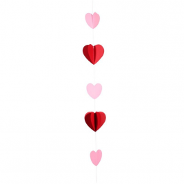 Red Heart Tissue Balloon Tail