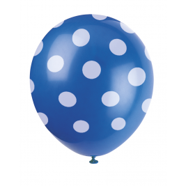 BLUE ploka DOTS 12