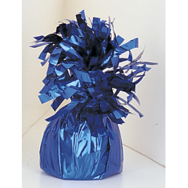 Royal Blue Foil Balloon Weights 4.2oz