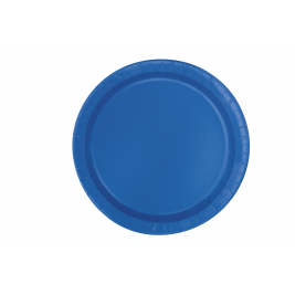 ROYAL BLUE  Paper Tableware-7