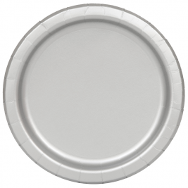 Silver Round Plates 9