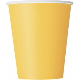 Sunflower Yellow Cups 9oz (14pk)