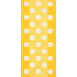 Yellow Polka Dots Cello Bags 11