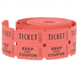 ENTERTAINING ACCESSORIES TICKET  ROLL - PACK OF 500