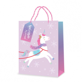 UNICORN  MEDIUM GIFT BAG