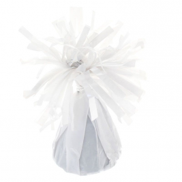 White Foil Balloon Weight Pack of 12